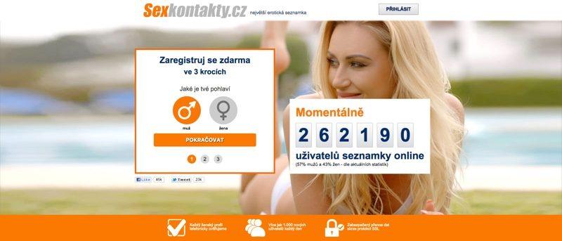 Seznamky Sexkontakty.cz